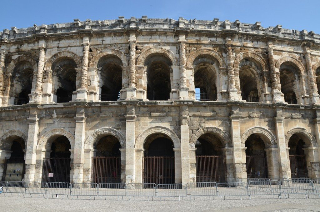 The Amphitheatre of Nîmes, built around 70 CE © Carole Raddato
