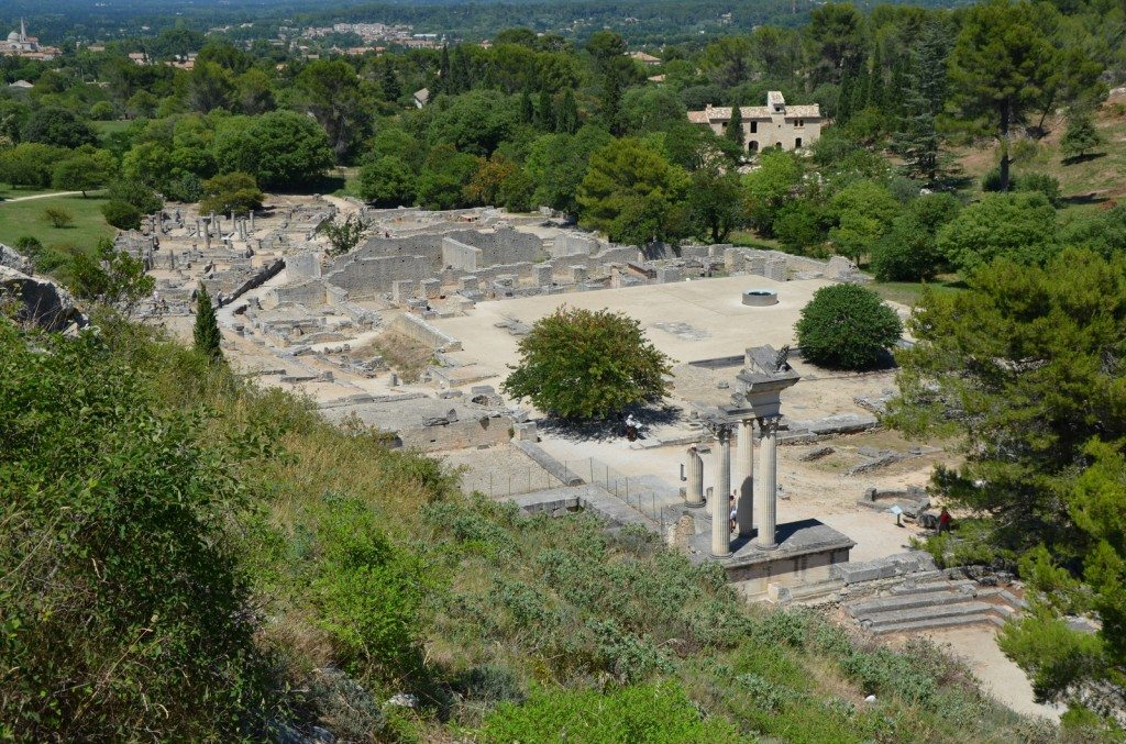 Overview of Glanum © Carole Raddato