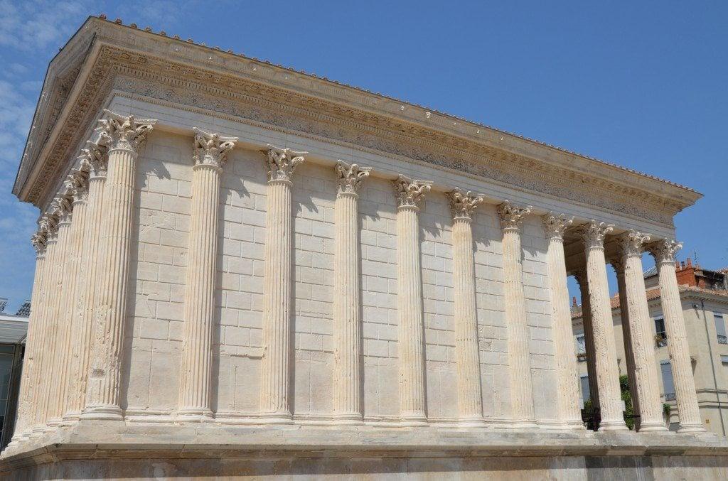 The Maison Carrée, Nîmes © Carole Raddato