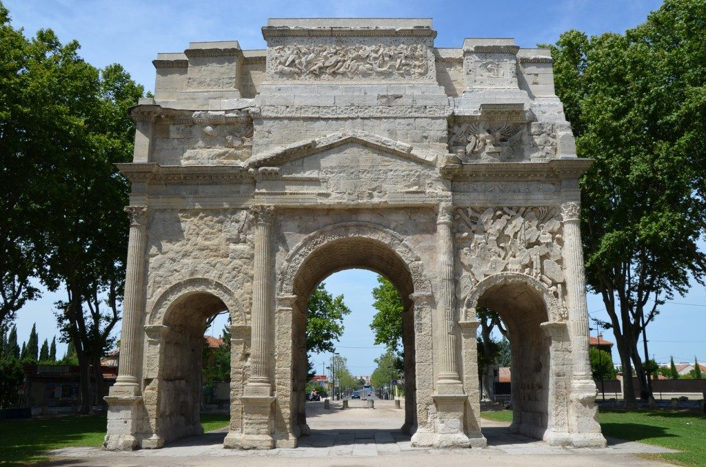 Triumphal Arch of Orange © Carole Raddato