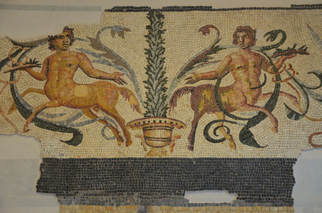 The Centaur Mosaic, dating to the late 2nd century - early 3rd century CE, Orange Museum © Carole Raddato