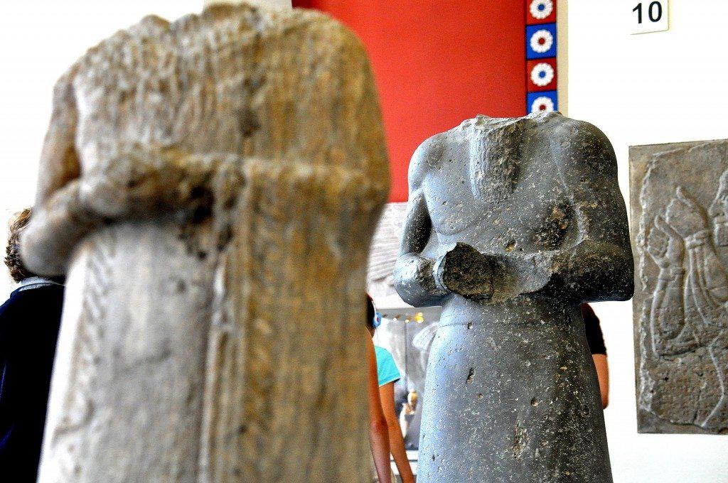 Assyrian Statues