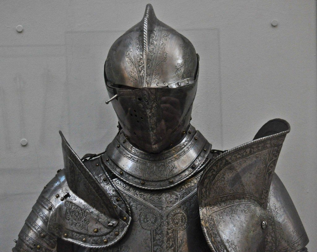 Body armor from Medieval Europe.