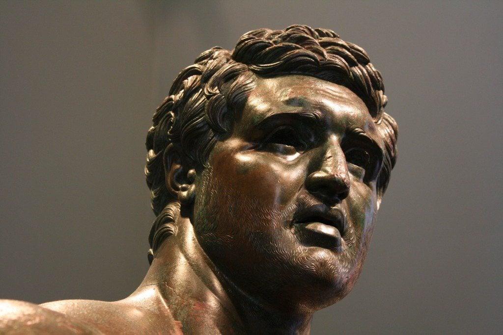 Hellenistic Prince (Detail)