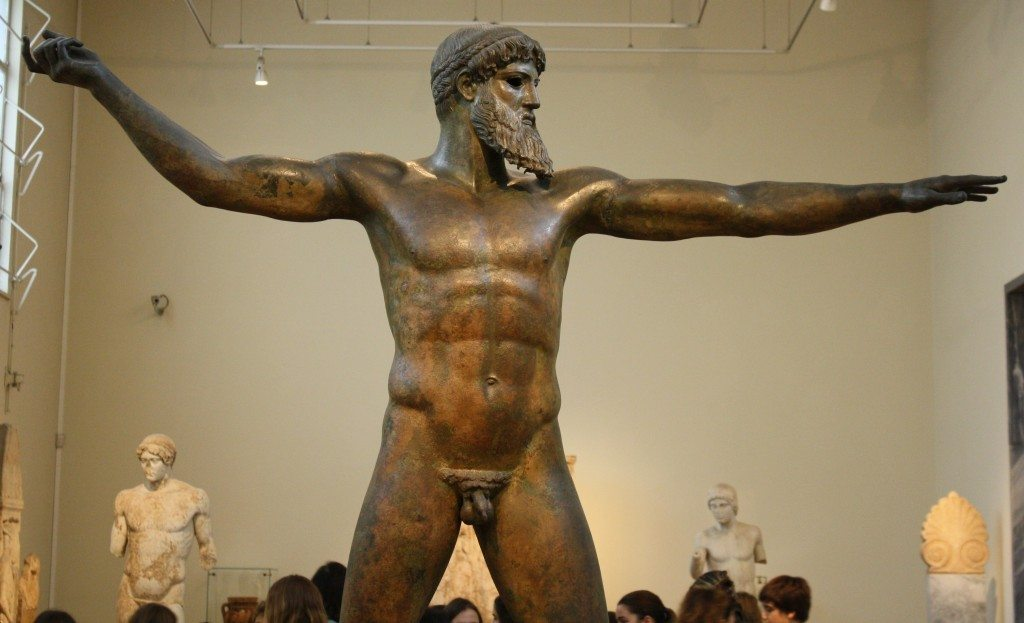 The Aretemisum Poseidon (or Zeus), c. 460 BCE. National Archaeological Museum, Athens.