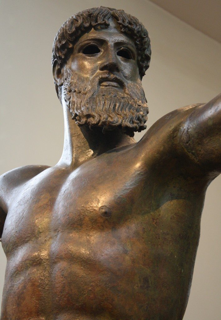 The Artemesium Poseidon (Detail)