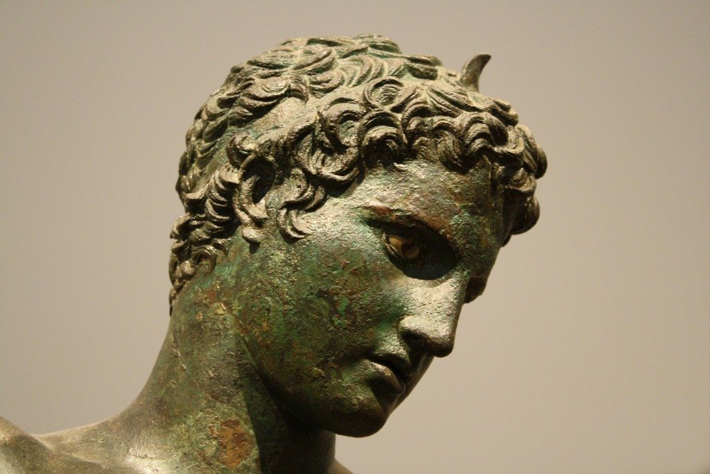 Greek Athlete (Detail)
