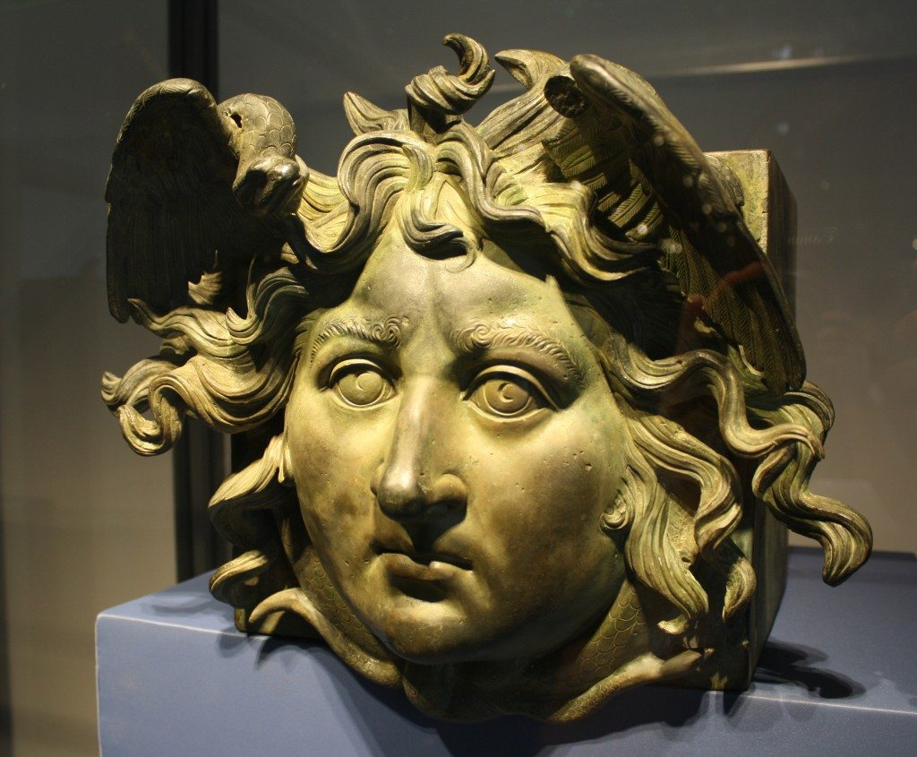 The most famous Gorgon, Medusa.