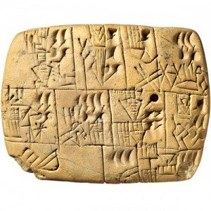 Early pre-cuneiform tablet record of beer allocation