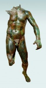 Statue of a Young Man. Third–fourth century BCE bronze 152 x 52 x 68 cm. Athens, Ephorate of Underwater Antiquities.