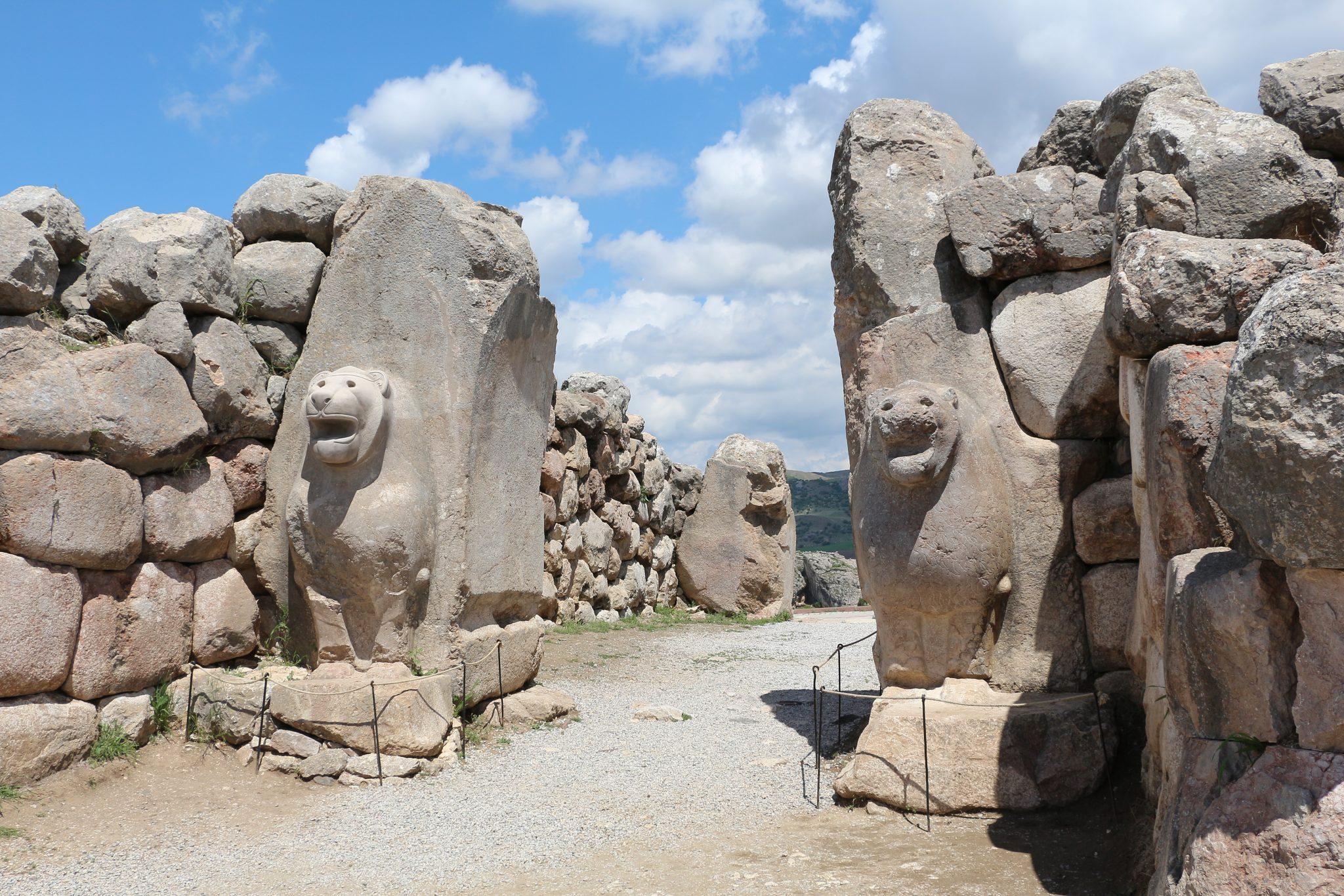 Lion Gate, Hattusa
