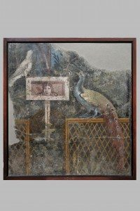Garden Fresco. Painted plaster. MANN 8760. ©The Superintendence for the Archaeological Heritage of Naples (SAHN).