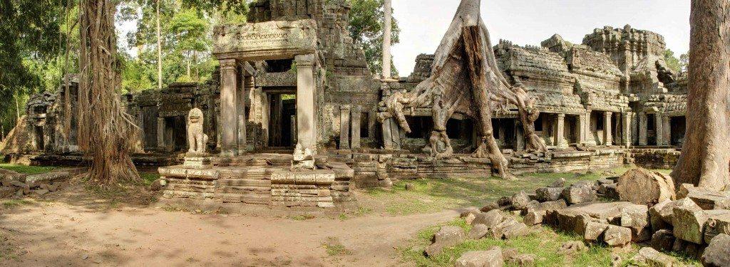 Preah Kahn Temple.