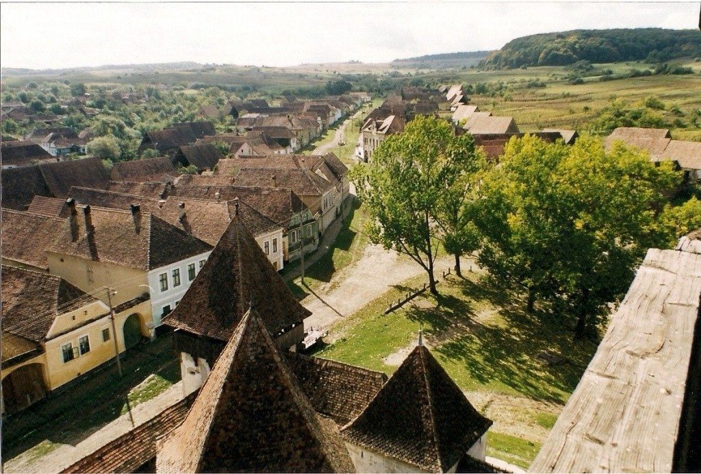 View from atop the tower of a church in Archita, Romania. (Photo Courtesy of GHF.)
