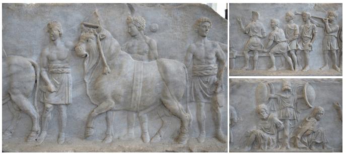 The Battle of Actium, Rome museum