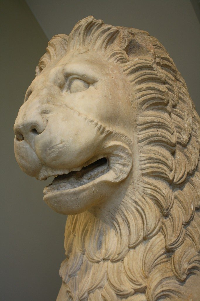 A lion froma funerary monument from Moschato