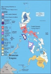 Before the Western contact, the Philippine archipelago had its own rulers and kingdoms, which is Sinified, Indianized and Muslim States. https://en.wikipedia.org/wiki/History_of_the_Philippines_%28900%E2%80%931521%29#/media/File:Philippines_%28pre_1521%29.jpg