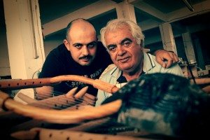 Nikolaos and Anastasios Koumartzis of Luthieros music instruments