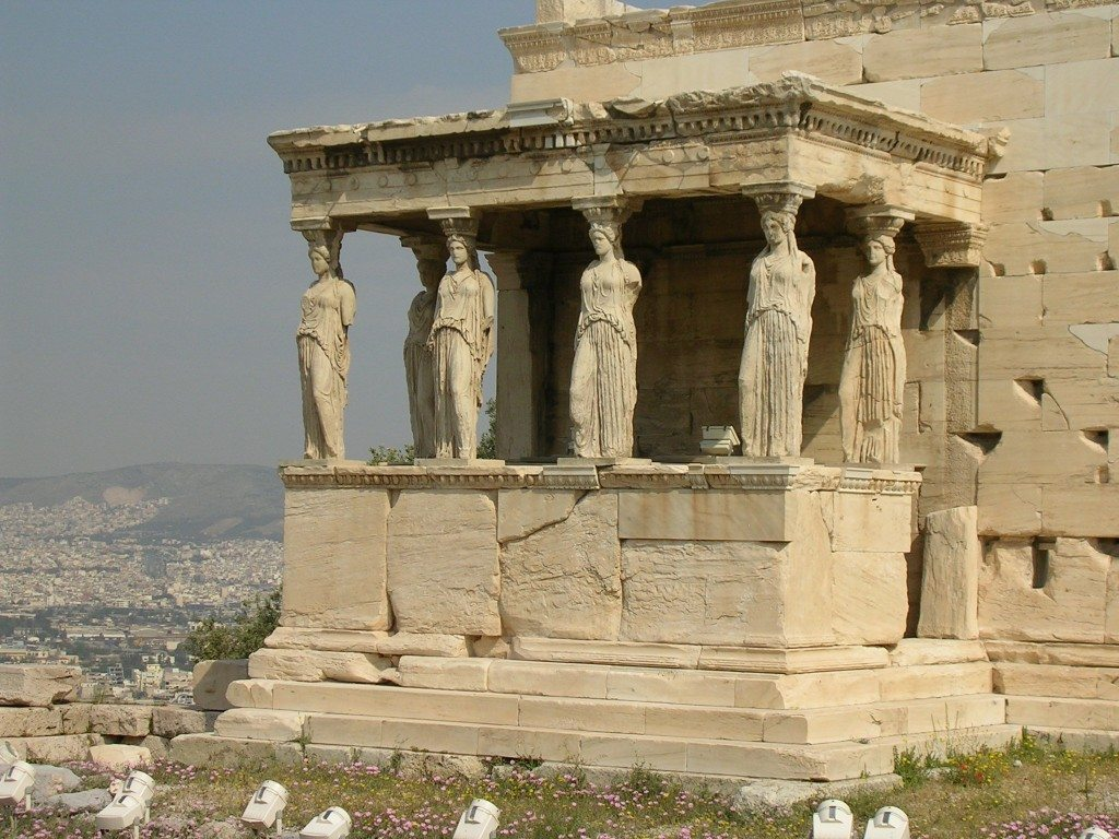 The 5th century BCE Erechtheion, the Acropolis, Athens. Photo © Mark Cartwright.