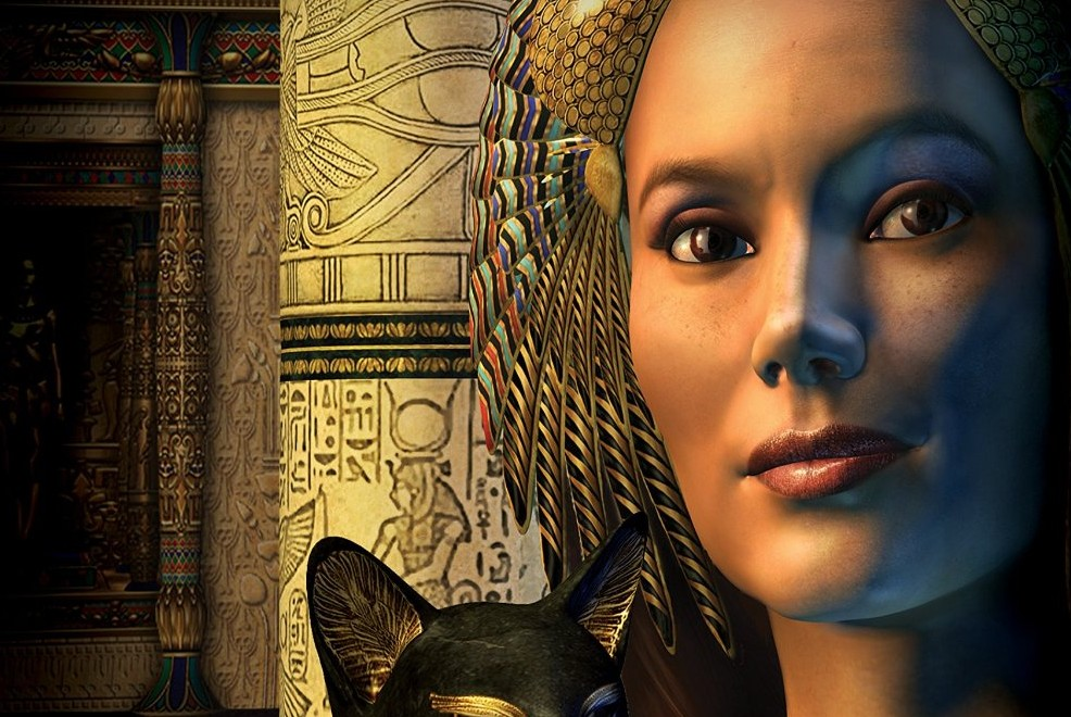 Book cover art for Secrets of the Nile. Prelude for the Memories of  series. Photo © Roger Kenworthy.