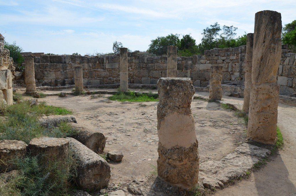 The gymnasium's latrines, Salamis