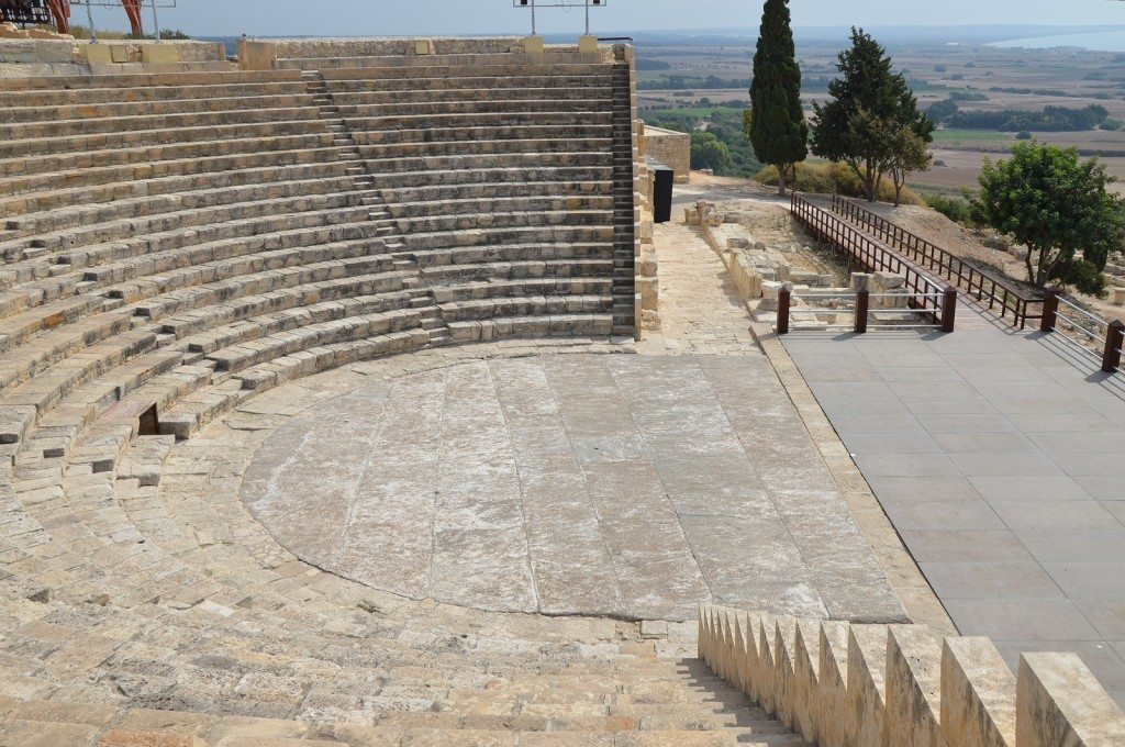 The Roman theatre, Kourion