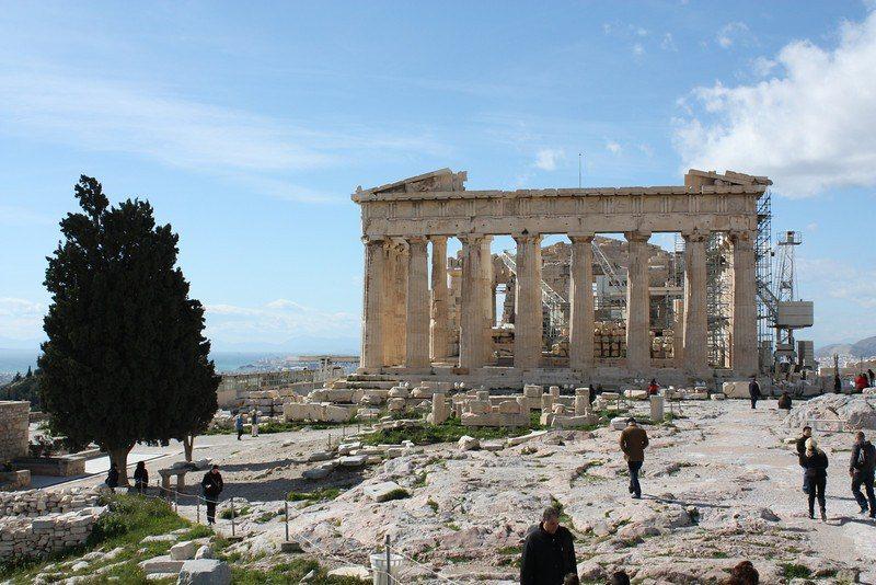 Traveling Greece: Athens-Acropolis