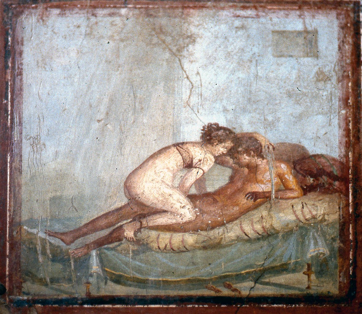 Ancient european erotic art