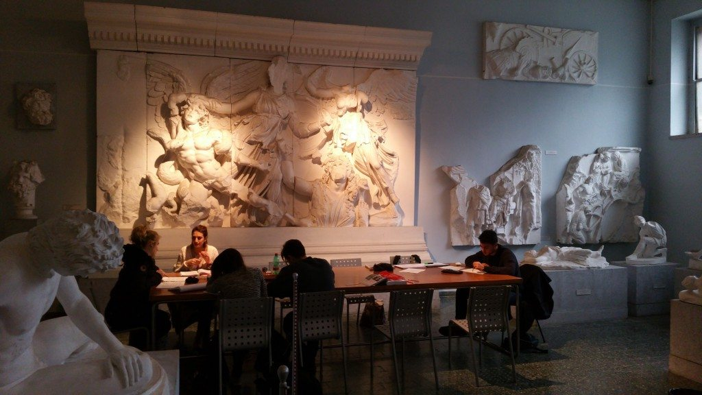 Best study environment ever! Rome visit