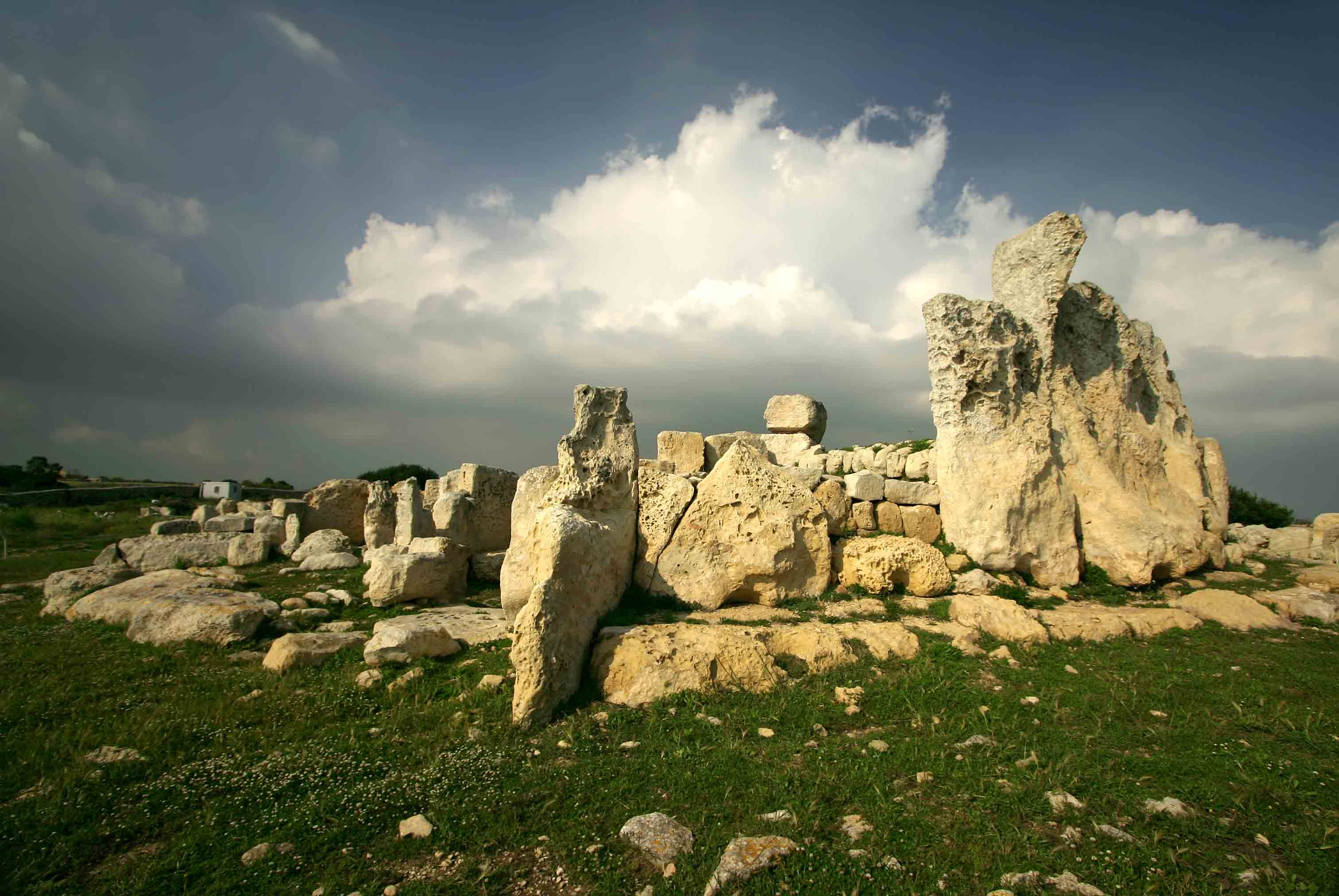 The Temple at Hagar Qim