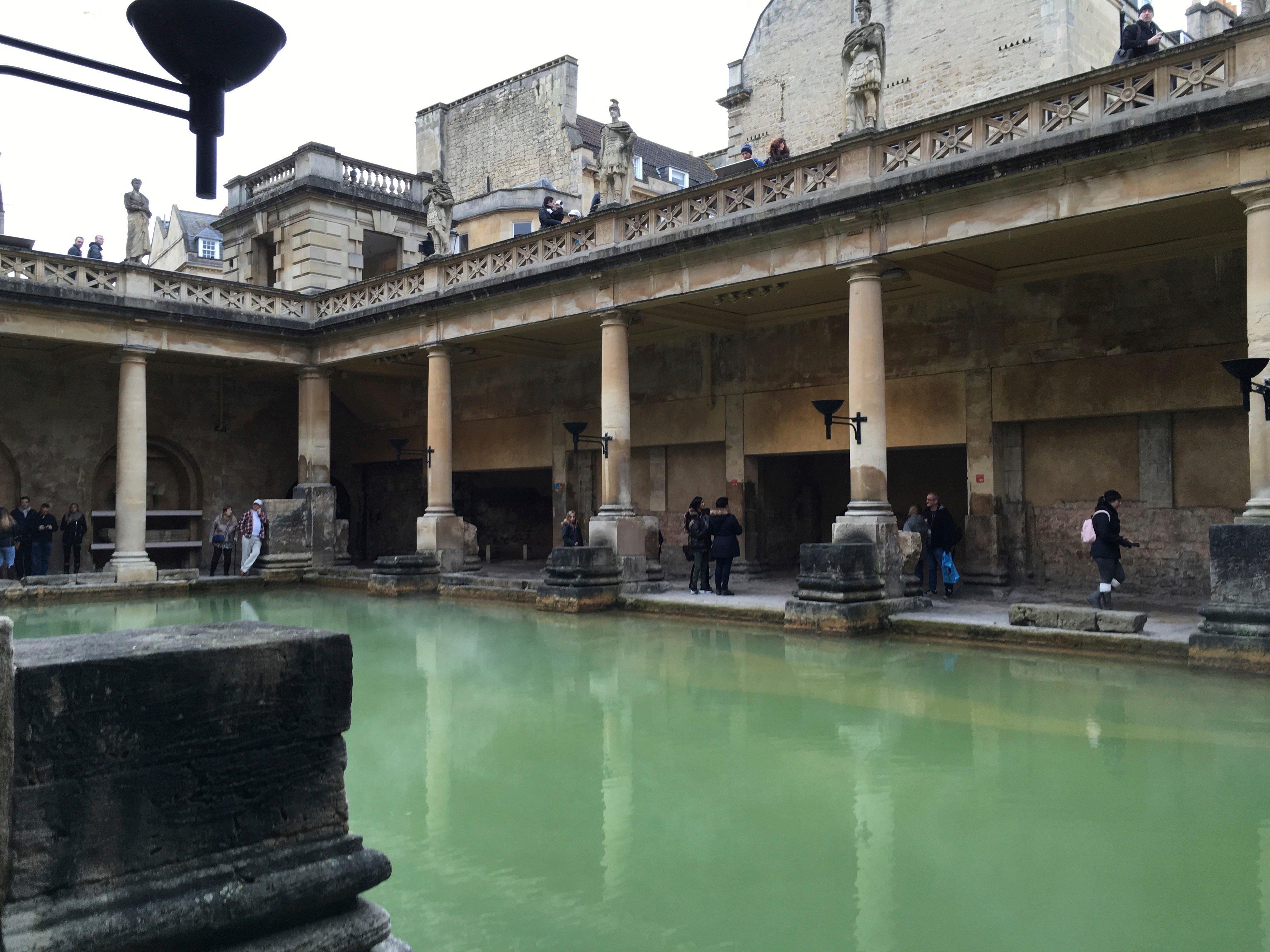 Visiting the Roman Baths in Bath England Ancient History et cetera