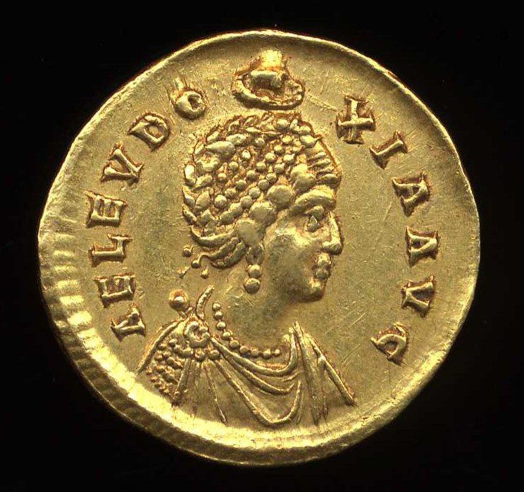 Gold-coin-Aelia-Eudoxia