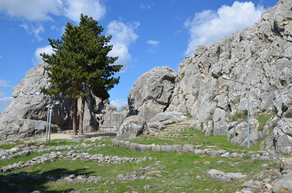 Yazilikaya Hittite Rock Sanctuary.