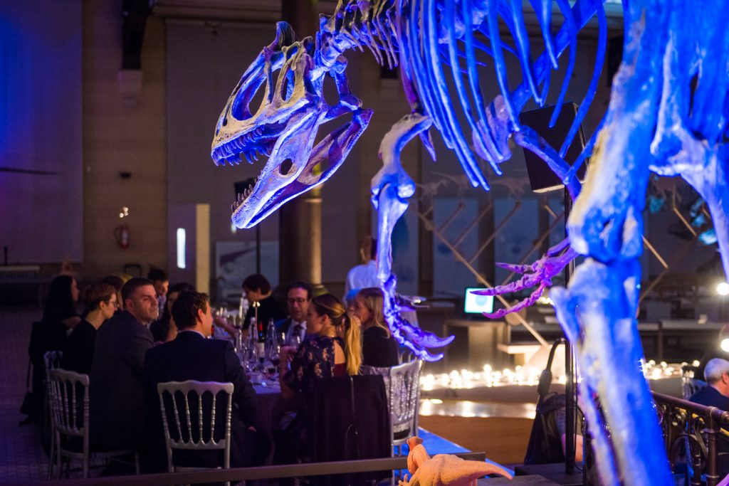 Dining among Dinosaurs