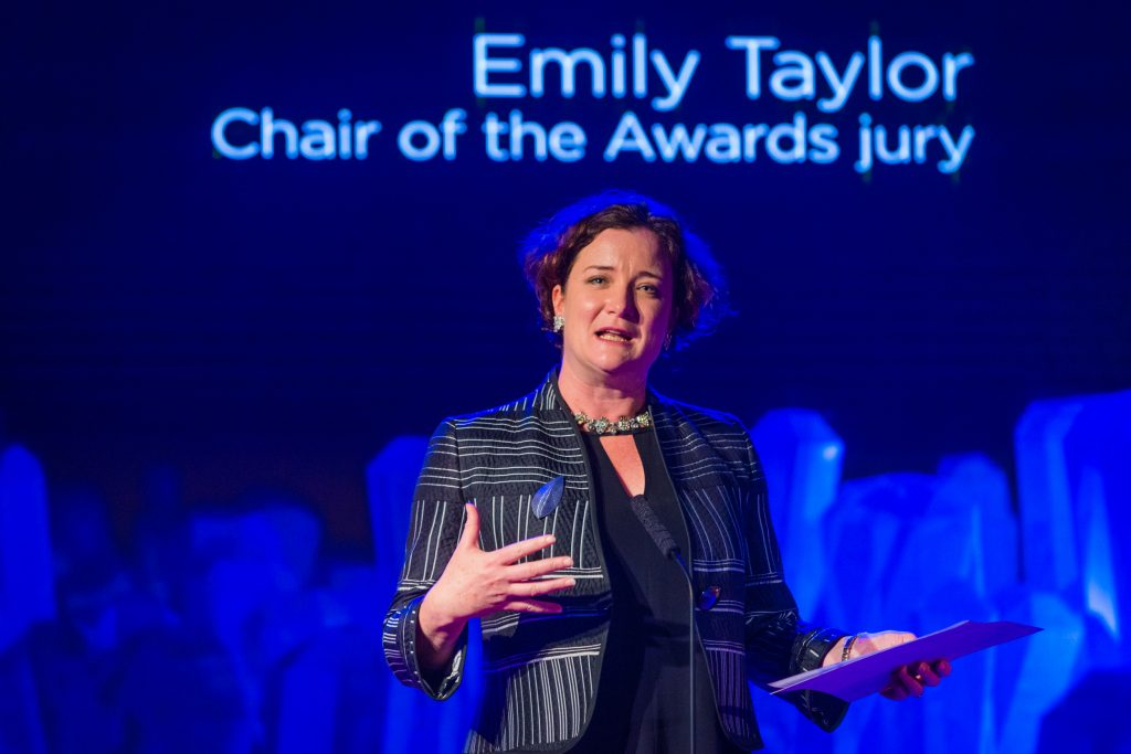 Emily Taylor, Chair of the Awards Jury