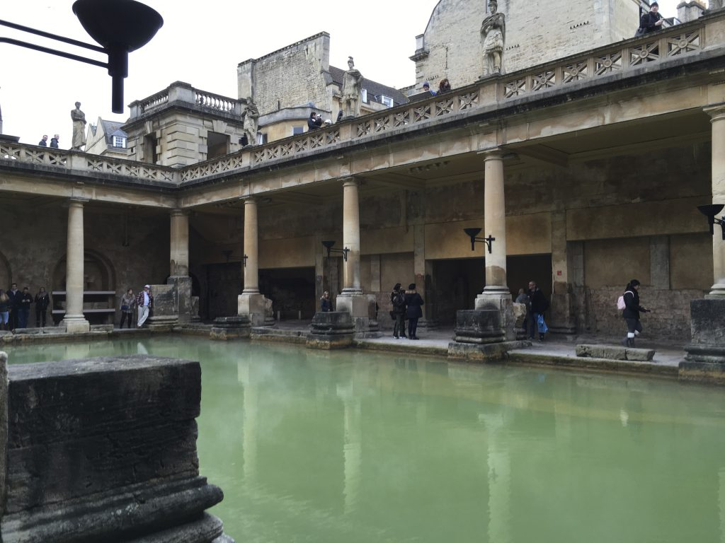 Ancient World Roman Baths Bath